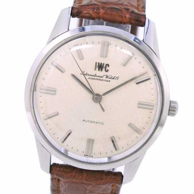 激安通販の IWC SCHAFFHAUSEN アイダブリューシー シャフハウゼン SS 自動巻き シルバー文字盤 腕時計, HUB LIKE b99cd21f