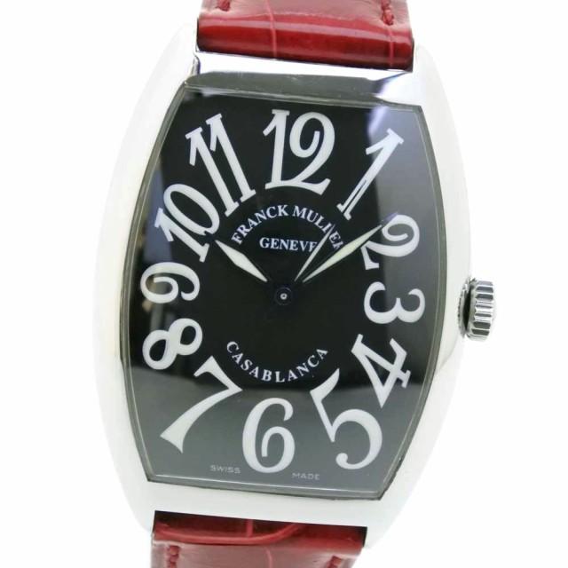 魅力的な価格 FRANCK カサブランカ MULLER フランクミュラー カサブランカ 6850 SS レッド 自動巻き 自動巻き SS 黒文字盤 腕時計 メンズ, イイモリチョウ:4c49e974 --- 1gc.de