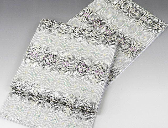 最新の激安 正絹 西陣[帯匠山下謹製]波衣(綴れ)袋帯(新品)(仕立て上がり) (袋帯)新品仕立済-和装・和服