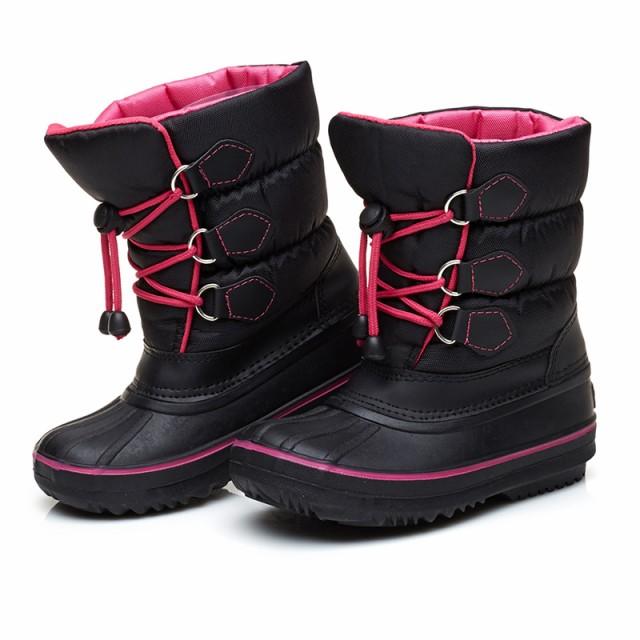 a54e5f9a6d940 冬用 ブーツ 冬靴 子供 靴 男の子 靴 子供の靴 子ども靴 スノーブーツ ...