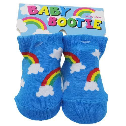 f482f0e280597 レインボースカイ 赤ちゃん靴下 ベビーブーティーソックス BABY SOCKS ...