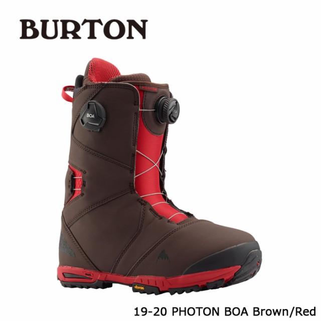 【はこぽす対応商品】 バートン ブーツ 19-20 BURTON PHOTON BOA Brown/Red フォトン ボア 日本正規品, 刃物のじゅうみ ba7da4c1