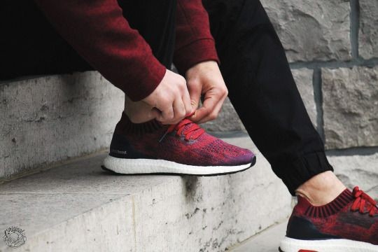 the best attitude bc421 ea264 ウルトラブースト Uncaged アディダス スニーカー adidas ULTRA BOOST Uncaged Mystery Red   Burgundy海外限