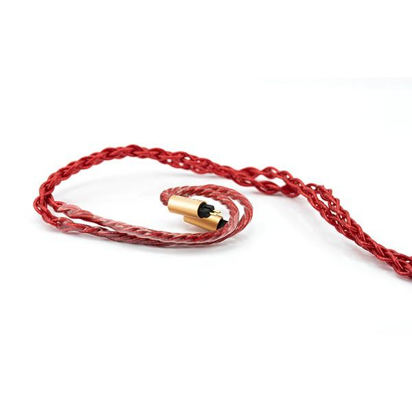 驚きの値段 ケーブル 8Wire Vermilion カスタムIEM2pin 【BEA-7261】イヤホン Custom-3.5mm MKII Beat Audio リケーブル ビートオーディオ-ヘッドホン・イヤホン