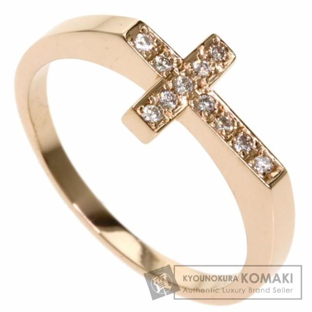 独創的 セレクトジュエリー SELECT JEWELRY クロス ダイヤモンド リング・指輪 K18イエローゴールド, CHOICE 731110aa