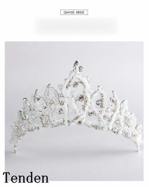e4ecadb8f3c44 ウエディング クラウン ウェディング ヘアアクセサリー 王冠 王冠 花嫁 ヘッドドレス 結婚式 ティアラ 二次会 パーティー ティアラ