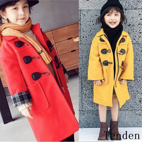 1a4354f094a1b 韓国子供服 女の子 ダッフルコート キッズ 女児 学生 キッズ服 子供服 ジャケット アウター 子供