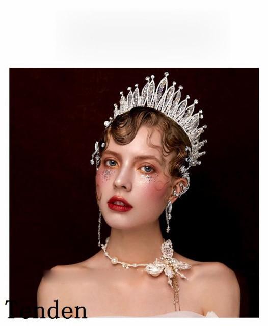 5bbcbe0ef1117 ウエディング クラウン ウェディング 二次会 ティアラ 王冠 王冠 ブライダル用 ヘアアクセサリー ヘッドドレス 花嫁 結婚式