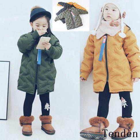 27a23180f98d0 冬着 子供服 子供キッズ スクール ダウンコートコート 厚手防寒服 韓国風 アウター