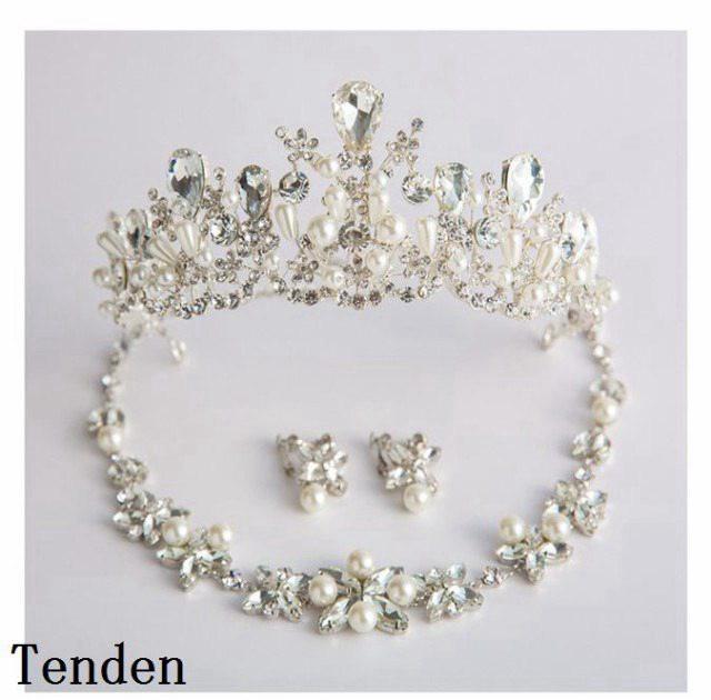 c257a3c6e31dc ウエディング クラウン ウェディング 二次会 王冠 花嫁 ヘッドドレス 結婚式 ヘアアクセサリー パーティー ティアラ ティアラ ブライダル