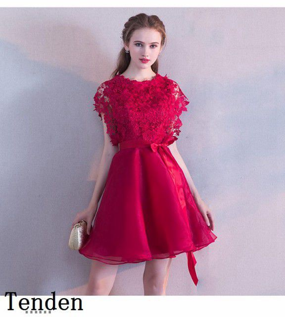 9ced08afd3cf8 ブライズメイドドレス ミニドレス カラードレス 二次会 パーティドレス ワンピース ウェディングドレス カラーミニドレス