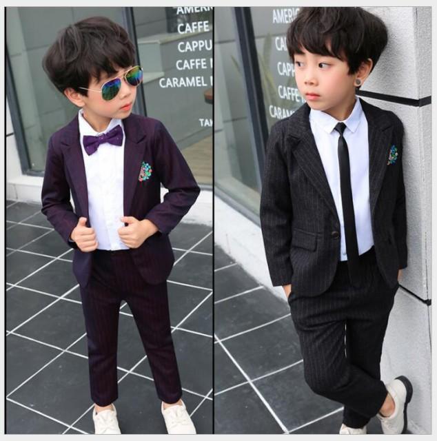ff1e637481234 刺繍 5点セット フォーマルスーツ キッズスーツ 男の子スーツ 子供スーツ ピアノ ジュニア 男児 卒