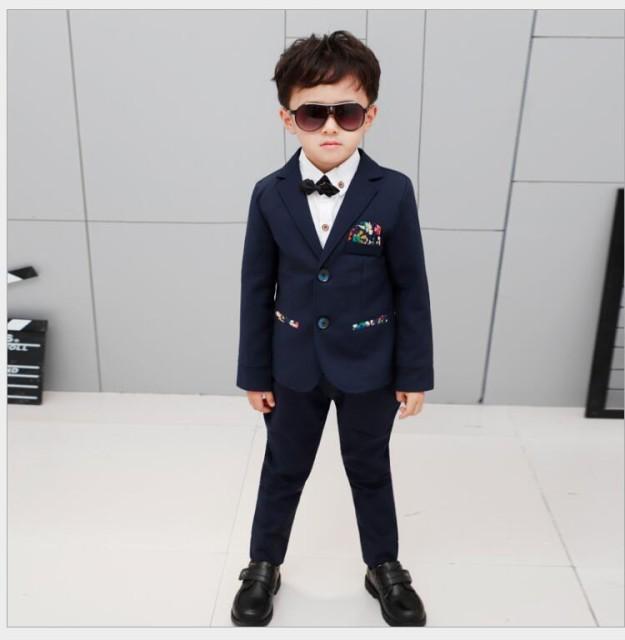 8e75dc73aed3c 5点セット キッズスーツ 男の子スーツ 花柄 子供服スーツ フォーマルスーツ 入学式