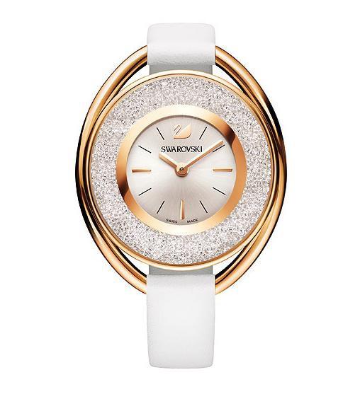 (お得な特別割引価格) スワロフスキー クリスタリン オバール ホワイトトーン ウォッチ 腕時計 5230946 Swarovski Crystalline Oval White Tone Watch □, トヨコロチョウ e5b79c6a