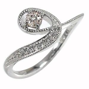最安値 指輪 指輪 流れ星 ピンキー ダイヤモンド 流れ星 リング 18金 ルメート ピンキー 指輪 レディース【送料無料】, ブランドヒルズ:8881a41f --- chevron9.de