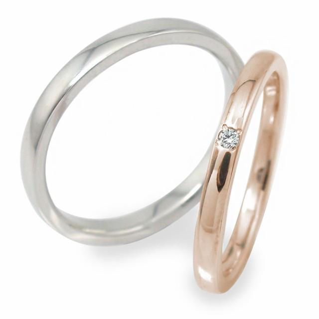【お得】 ダイヤモンド ダイヤモンド ペアリング マリッジリング 2本セット 誕生石 10金 結婚指輪 ホワイトゴールド ピンクゴールド ペアリング 10金 メンズ セット価格, 輸入品屋さん:84a2ff93 --- chevron9.de