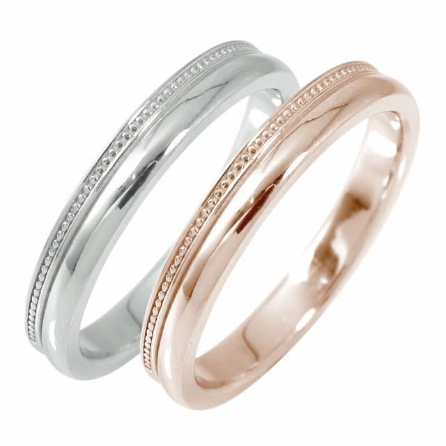 新しいブランド ミルグレイン ペアリング マリッジリング メンズ 2本セット 18金 アンティーク調 結婚指輪 ホワイトゴールド ピンクゴールド ペアリング 18金 メンズ ペアリング, 消費税無し:bffe2de2 --- morning.mgv-rietberg.de