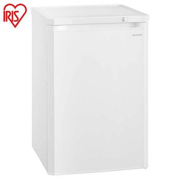 上品な アイリスオーヤマ 送料無料 ホワイト IUSD-9A-W 前開き式ノンフロン冷凍庫 85L-キッチン家電