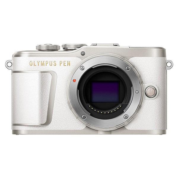【 開梱 設置?無料 】 ボディー [ミラーレス一眼カメラ ホワイト (レンズ別売)] OLYMPUS E-PL9-カメラ