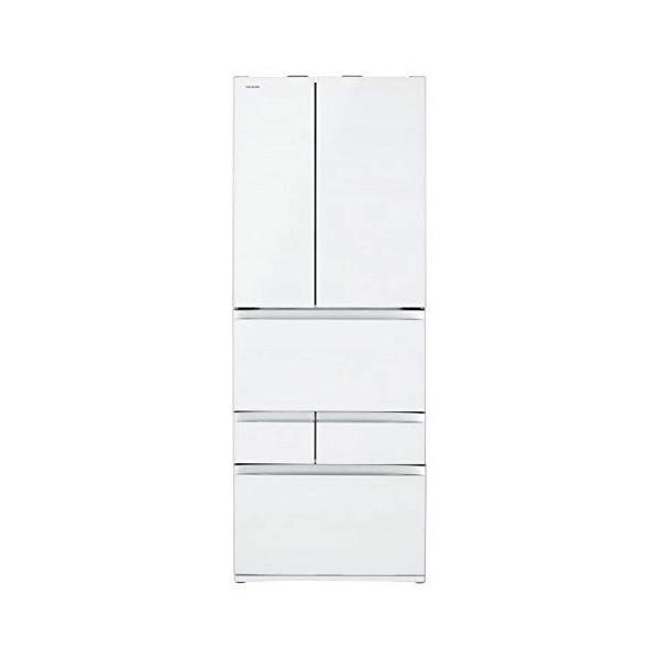 独創的 東芝 GR-R600FZ(UW) クリアグレインホワイト VEGETA [冷蔵庫(601L・フレンチドア)], 35PLUS-家具の35プラス- 7fb8e6d9