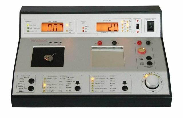 最初の  QT-8000B マシン クォーツ時計の 多機能 タイミング timegrapher-腕時計メンテナンス
