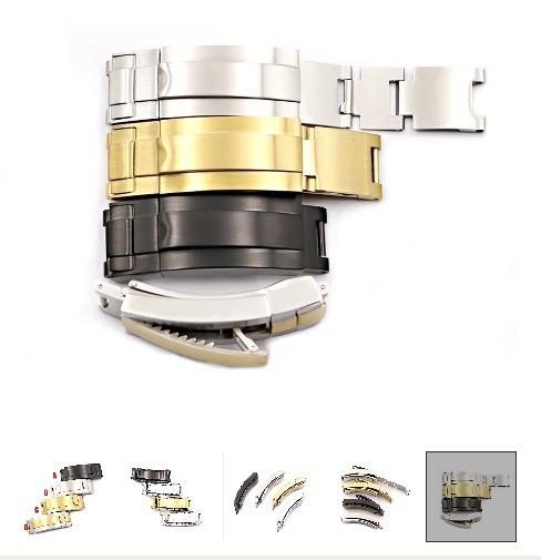 new styles 23703 ef181 ROLEX ロレックス セイコー シチズン 互換用 ディープシー 腕時計  ステンレス 取付幅9mm×9mm バックル