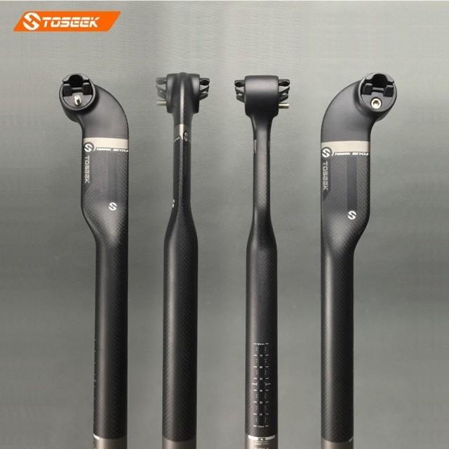 3K Full Carbon Fiber MTB Road Bicycle Bike Cycling Seatpost 27.2//30.8//31.6mm