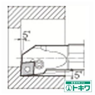 【オープニングセール】 京セラ 内径加工用ホルダ S40T-PCLNL12-50 ( 6457631 ), ツシマチョウ 268befea