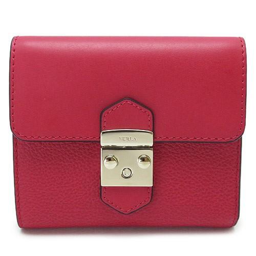 d893d7294c1d フルラ 折財布 レディース FURLA メトロポリス レザー 赤 レッド ルビー 964010/PU28 CO2 RUB