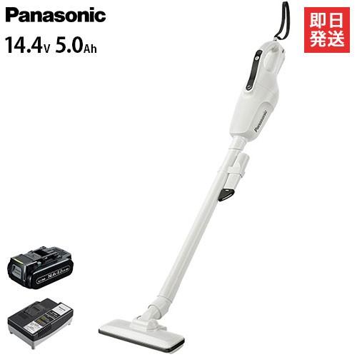 【良好品】 パナソニック 工事用充電クリーナー 14.4V 5.0Ah EZ37A3LJ1F-W (白), 西郷村 d004b2aa
