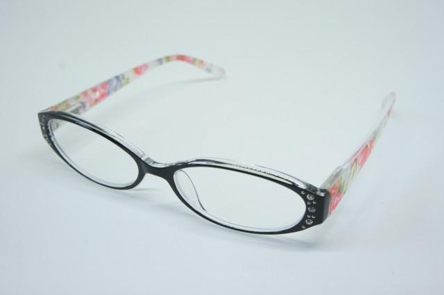 おしゃれシニアグラス(老眼鏡)女性用 ポリカーボネイト ピンク 135×145×32mm AP116S 3.0度