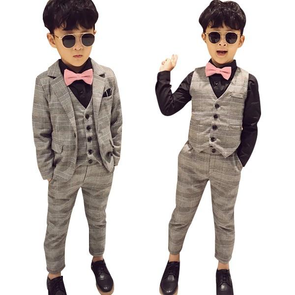 8ab0554de5823 子供スーツ 男の子スーツ 子供フォーマル 子供 フォーマルスーツ 3点セット キッズスーツ フォーマル 発表
