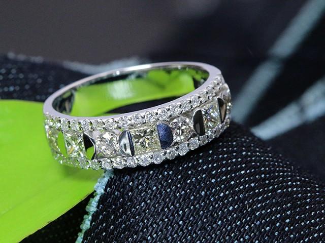 全商品オープニング価格! 豪華1.1ct 指輪 1点もの/Ycollectionワイコレ 迫力のPT900リング 1カラット ダイヤモンド プラチナ-指輪・リング
