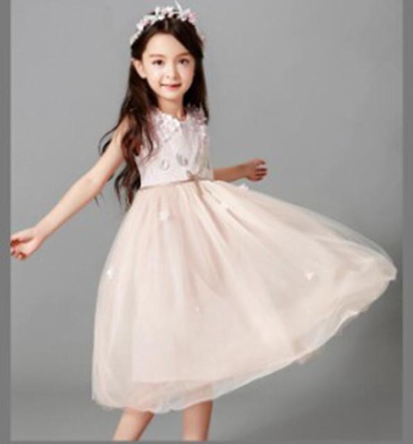 0a5b77dd46afb 女の子ワンピース 期間セール 子供ドレス 七五三フォーマル 発表会 結婚式 ピアノ ジュニア110 120