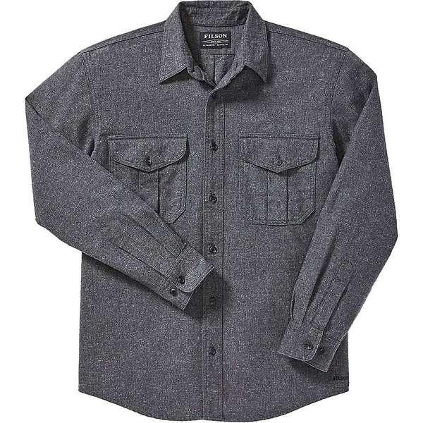 独特の素材 フィルソン メンズ シャツ トップス Filson Men's Alaskan Guide Shirt Dark Heather Grey, 諸富町 b4a30842