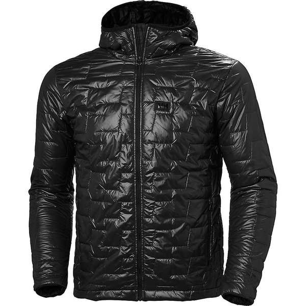 【ラッピング無料】 ヘリーハンセン メンズ ジャケット Jacket・ブルゾン アウター Helly Hooded Hansen メンズ Men's Lifa Loft Hooded Insulator Jacket Black Matte, LEXT:aa17d762 --- chevron9.de