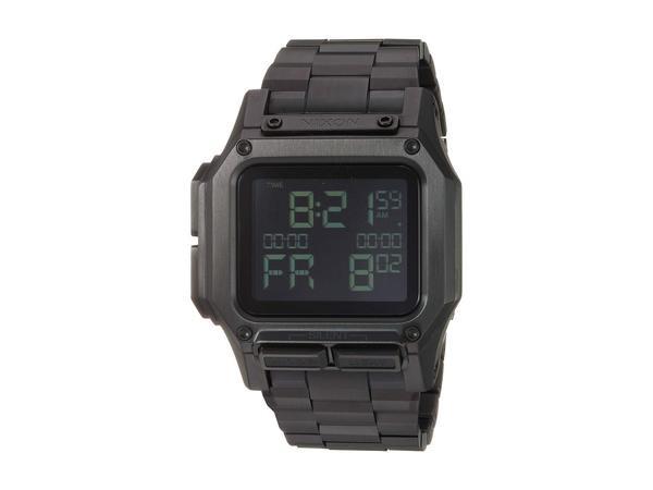 割引発見 Regulus ニクソン Black SS 腕時計 メンズ All アクセサリー-腕時計メンズ