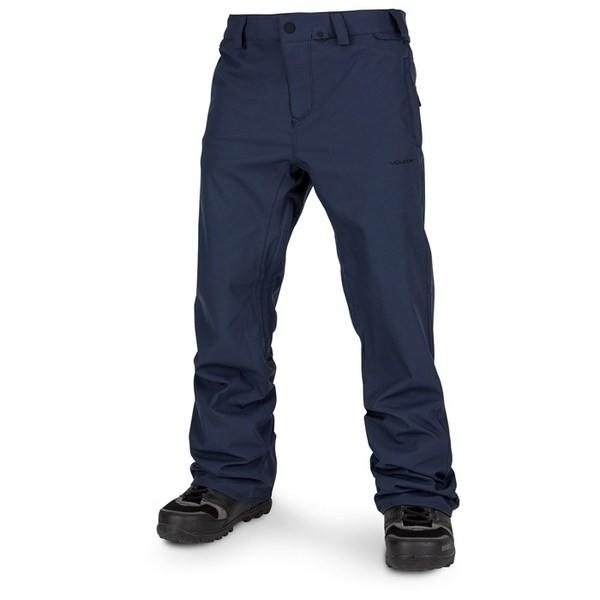 人気No.1 ボルコム メンズ カジュアルパンツ ボトムス Volcom Freakin Snow Chino Pants Navy, 一番人気物 b4567816