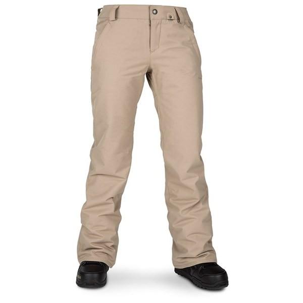 【税込】 ボルコム Sand Brown レディース ボトムス - Frochickie Volcom カジュアルパンツ Insulated Women's Pants-パンツ