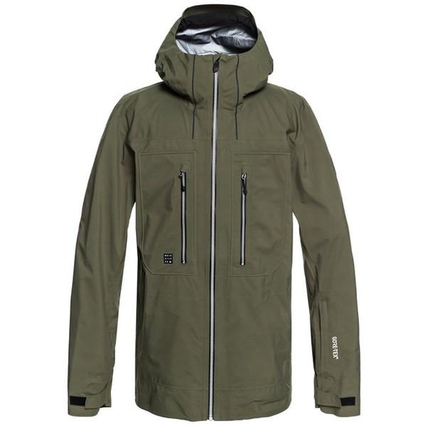 安いそれに目立つ クイックシルバー メンズ ジャケット・ブルゾン アウター Quiksilver Mamatus 3L GORE-TEX Jacket Grape Leaf, ミヤガワムラ d0d1a521