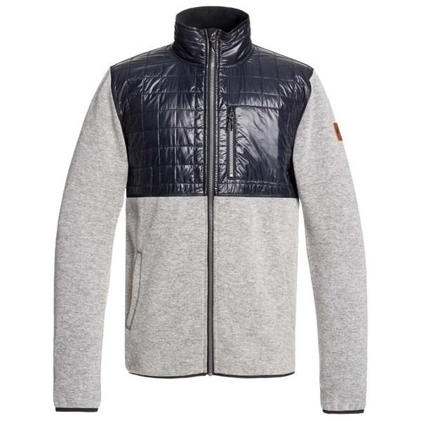 【返品交換不可】 クイックシルバー Fleece Grey メンズ ジャケット・ブルゾン アウター Quiksilver Into Into The Wild Fleece Light Grey Heather, オオハサママチ:d2c5e716 --- 1gc.de