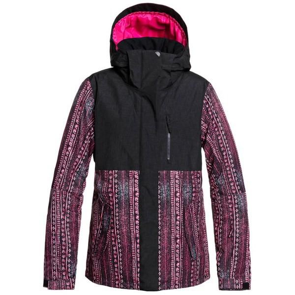 【最新入荷】 ロキシー レディース ジャケット・ブルゾン Black True アウター Roxy Jetty Block Jacket Be - Women's True Black Don't Be Shy, 犬とEnjoy!ドッグパーク:e14f1d46 --- 1gc.de