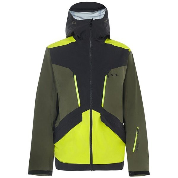欲しいの オークリー メンズ ジャケット・ブルゾン アウター Oakley Alpine Shell 3L GORE-TEX Jacket Blackout, MINT  7eb7c1e1