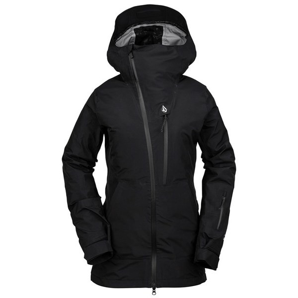 【国内即発送】 ジャケット・ブルゾン レディース Black GORE-TEX Jacket NYA アウター Volcom Women's ボルコム TDS --アウター