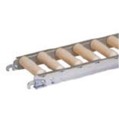 【最安値挑戦】 セントラル 樹脂ローラコンベヤJRAU4208型400W×50P×1500L JRAU4208-400515, 富岡市 aeb0c567
