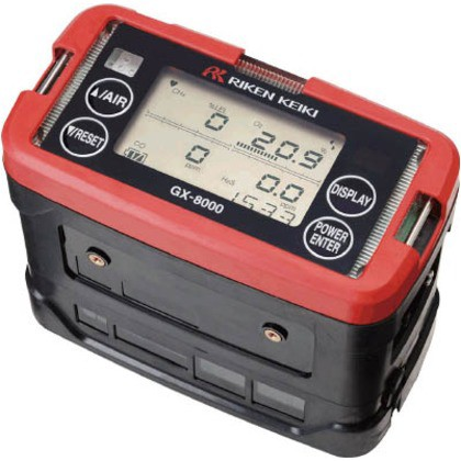 売れ筋商品 理研 ポータブルマルチガスモニター GX-8000 TYPE-A CH4, トヨオカムラ 3cc54e2c