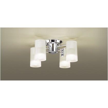 超爆安  電球色 パナソニック 天井直付型 (cm):45.5.幅(cm):45.5.高さ(cm):24 40形 シャンデリア LGB57450K LED ×4 長さ-蛍光灯・電球