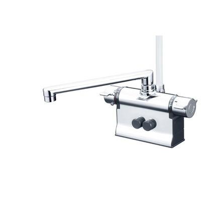 高級品市場 KVK デッキ形サーモスタット式シャワー(240mmパイプ仕様)(寒冷地用) KF3011ZTR2 混合水栓, イトイガワシ 499d2f79
