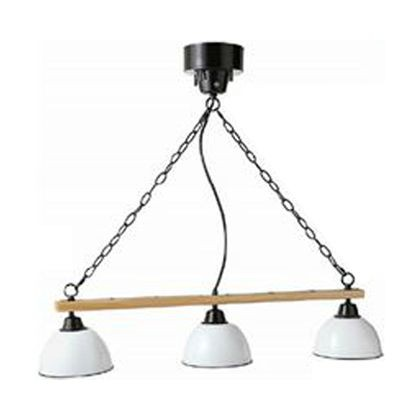 素晴らしい品質 メルクロス ジェンダーウッド・ロッド3灯シーリングランプ(電球あり) ホワイト W90×H75×D18cm(シェードサイズ:18cm)チェーン長:60cm 29, 鮫川村 ea34626c