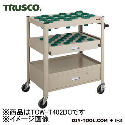 新着 トラスコ(TRUSCO) TCW型ツーリングワゴンスライド棚引出し付(NT・BT40)NG TCWT402DC, スキルアルファー e41e2e13